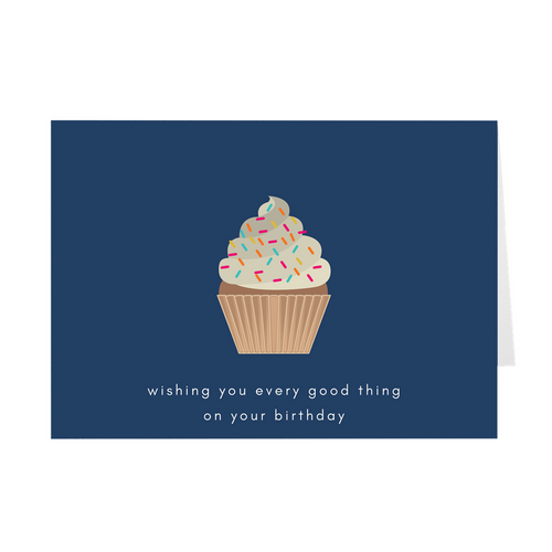 Every Good Thing Birthday Card