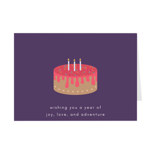 Birthday Wishes Card - Quick Ship