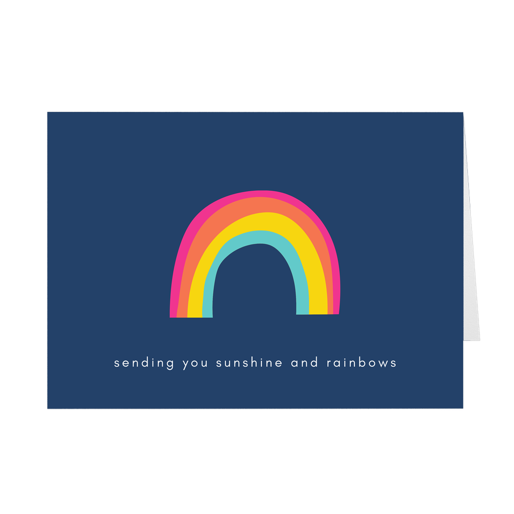 Sunshine and Rainbows Card