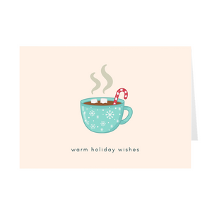 Warm Holiday Wishes Card - Quick Ship