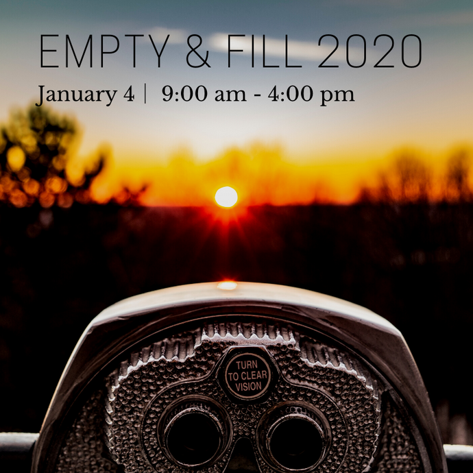 Empty & Fill 2020 Retreat Ticket