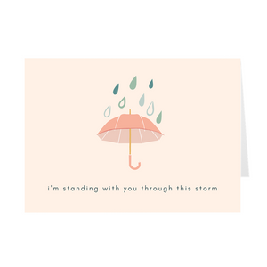 Standing with You Card - Quick Ship