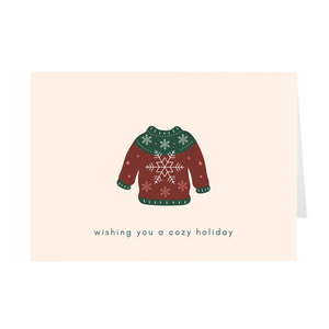 Cozy Holiday Card - Quick Ship