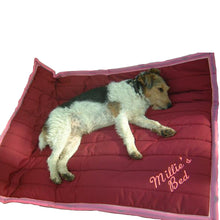 Load image into Gallery viewer, Dog Bed | Design Your Own | Pick Your Colours | Embroidery