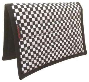 Chequered | Saddle Pad | Customised | Design Your Own | PolyPad