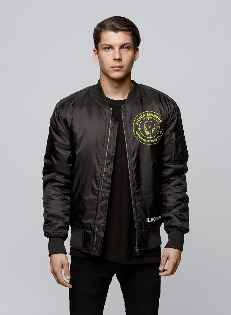 Silver Snipers Bomber jacket
