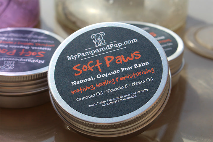 Soft Paws Natural Dog Paw Balm - MyPamperedPup