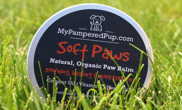 MyPamperedPup Soft Paws Natural Dog Paw Balm