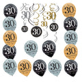 Thirtieth 30 th Birthday Decorating Kit
