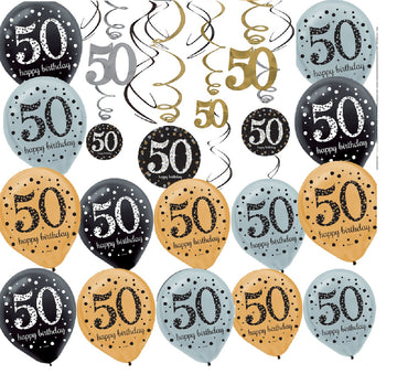 50 th Birthday Party Decorating Kit