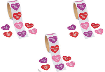 I  Have Jesus in My Heart Sticker Roll - 100 stickers