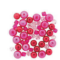 Valentine Pearl Crystal Bead Assorortment  - 50 pieces