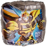 "Transformers 2 sided Balloon with Maximus Prime and Bumblebee - 18"" Helium Quality Sold Flat"
