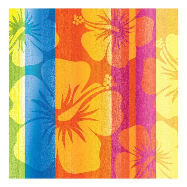 Creative Converting 652314 16 Count Paper Beverage Napkins, Sunset Stripes - Shipped USPS First Class