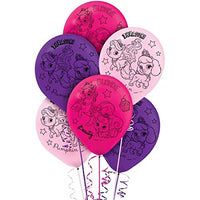 "Palace Pets Latex Balloons - 12"" helium quality - Sold Flat - 6 Balloon"