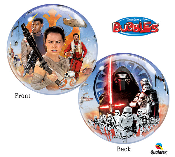 Star Wars The Force Awakens Bubble Balloon - 22""