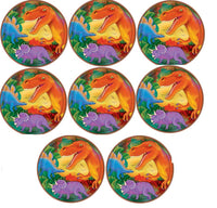 Dinosaur Party Dessert Plates (Pack of 8) - 7""