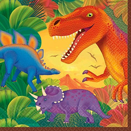 Prehistoric Dinosaur Party - 16 (2 ply) Lunch Napkins