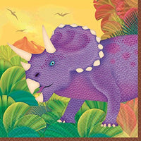 Prehistoric Dinosaur Party - 16 (2 ply) Beverage napkin
