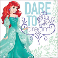 Ariel Dream Big Lunch Napkins - 16 count