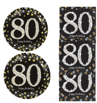 Eightieth 80 th Birthday Snack Pack for 8 Guests