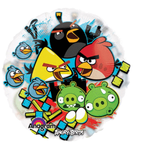 Angry Bird See-Thru Balloon 26""