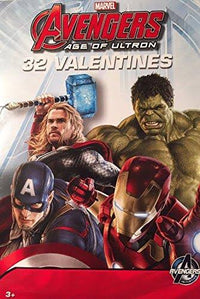 Avengers Age of Ultron Valentines - 32 Count