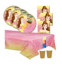 Princess Belle Birthday Party Supplies