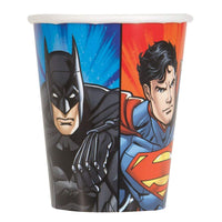 9oz Justice League Party Cups, 8ct