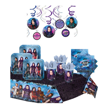 Descendants 3 Birthday Party Pack for 16 Guests
