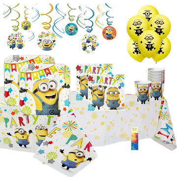 Despicable Me Minion Birthday Party Supplies
