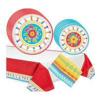 Summer Fiesta Party Supplies  with Tablecover