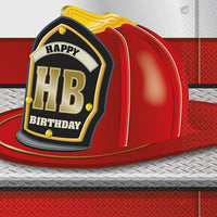 Fire Hat Napkins - 32 ct