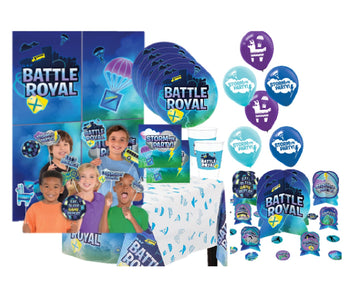 Battle Royal Video Game Super Birthday Party for 16
