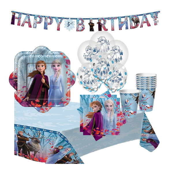 Frozen 2 Birthday Party Supply Kit