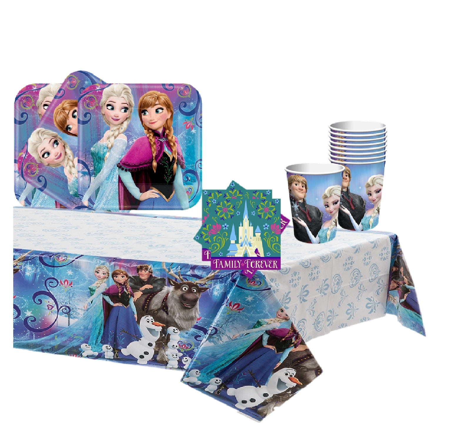 Miraculous Frozen Birthday Cake Party Kit Red Balloon Celebrations Funny Birthday Cards Online Inifodamsfinfo