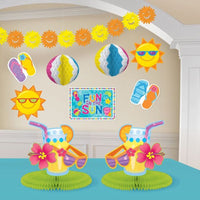 Summer 'Fun in the Sun' Room Decorating Kit (10pc)