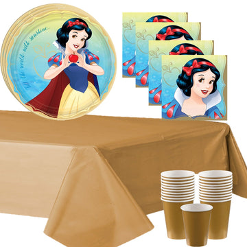 Snow White Birthday Party Supplies for 16 Guests