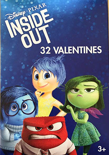Inside Out Valentines - 32 Count