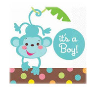 Jungle Animal Baby Shower It's A Boy