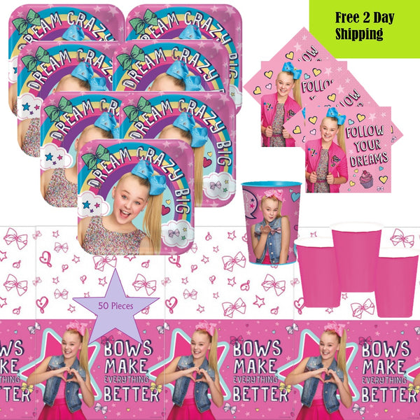 JoJo Siwa Birthday Party Supplies