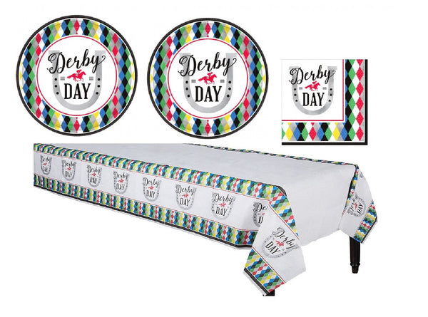 Kentucky Derby Tableware Party Supplies for 16