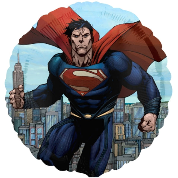 "Superman - Man of Steel 17"" Balloon"