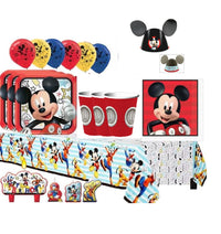 Mickey Mouse Party Pack (Mega) For 16 Guests