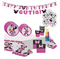 Minnie Mouse Forever Birthday Party Supplies with Banner