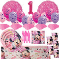 Minnie Mouse Mega First Birthday Party Pack for 16 Guests