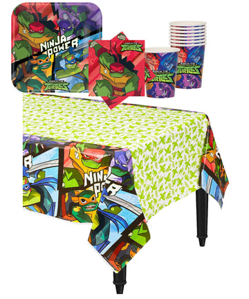 Teenage Mutant Ninja Turtle Party Supplies for 16