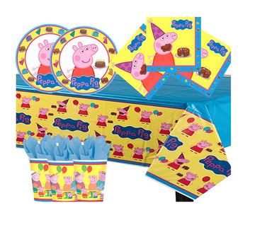 Peppa Pig Party Supplies for 8 Guests