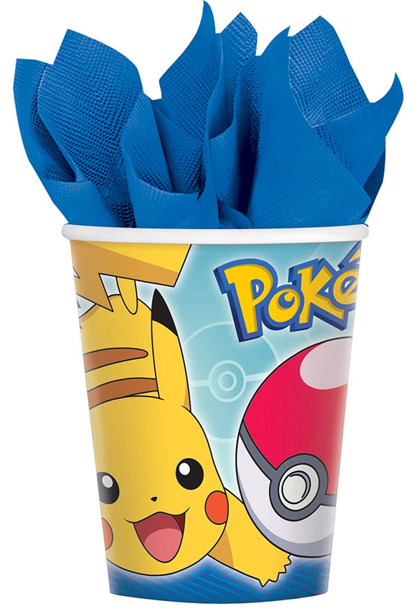 Pokemon Deluxe Party Supplies Kit for 16 Guests