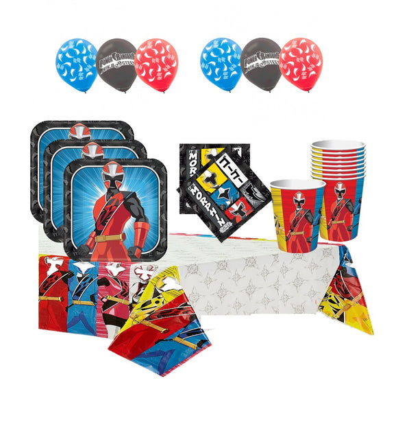 Power Rangers Ninja Steel Birthday Party Pack
